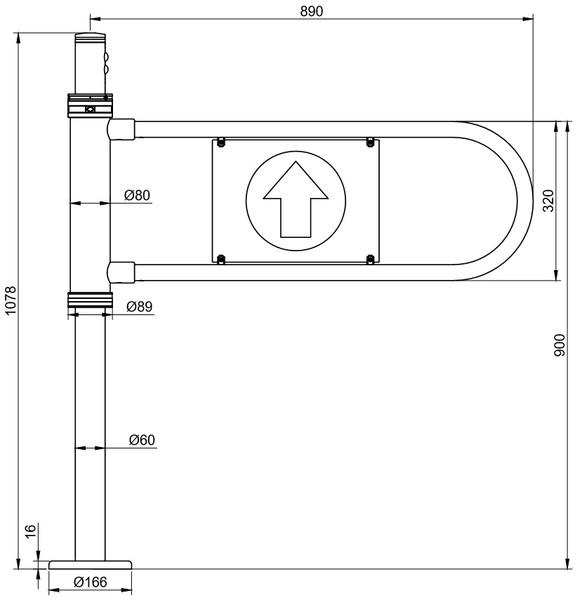 Ворітця механічні та електромеханічні ФОРМА® «ЕМК-3.0»